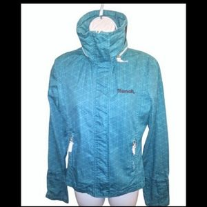 Bench blue and black zip up jacket